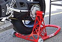 MV Agusta on 4S Motorcycle Stand