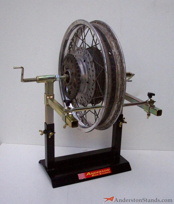 how to build a motorcycle wheel truing stand